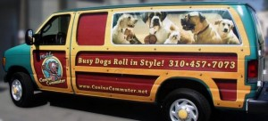 Example of a business oriented vehicle wrap