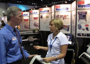 SignWarehouse at ISA 2010 in Booth 2010