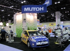 Mutoh's Booth at ISA Sign Expo 2010