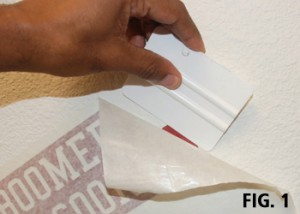 Using paper app tape