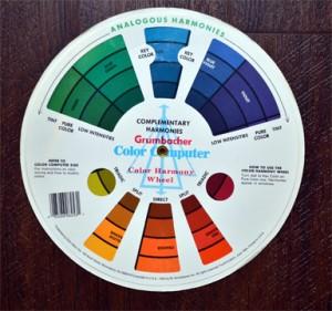 Grumbacher Color Wheel