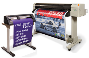 Vinyl Cutter and Digital Inkjet Printer
