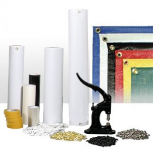 A Selection of Banner Making Supplies