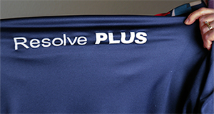 Fig 3. Resolve Plus is a very soft PU film with moderate stretchability