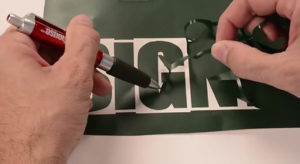 Vinyl Weeding Small Letters can be a pain