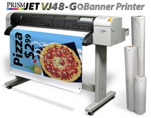 PrismJET VJ48G Banner Printer