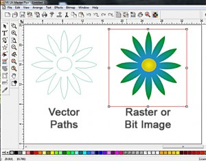 Raster or Bit Image Clipart Now Vectorized