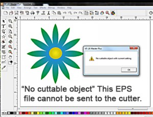 "Error - ""No cuttable object"""