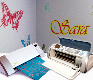 A Basic Guide To Cutting Vinyl With A Cricut Or Cameo Craft Cutter - Vinyl decal printing machine