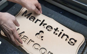 masking tape can be used to protect plywood when cutting with a laser engraver