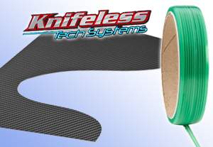 Knifeless Tape cuts clean lines for stylish vehicle graphics without a blade.
