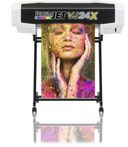The PrismJET VJ24XF package brings eye-popping color to your T-shirt transfers and graphics
