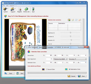 iColor TransferRIP software adds time-saving features and reduces toner cost.