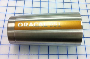 FIG 2: ORACAL 651 Copper Metallic looks refined on stainless steel.