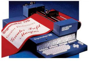 FIG 1: A Gerber IVB similar to those sold by Vinyl Express in the early 80s.