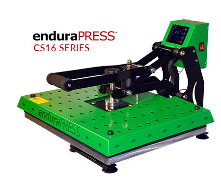 EnduraPRESS CS16 Series 16 x 20 clam shell heat press