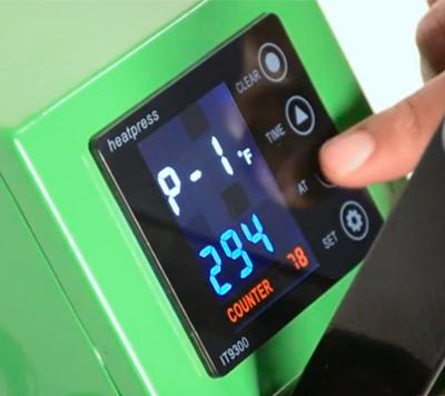 EnduraPRESS Digital control panel